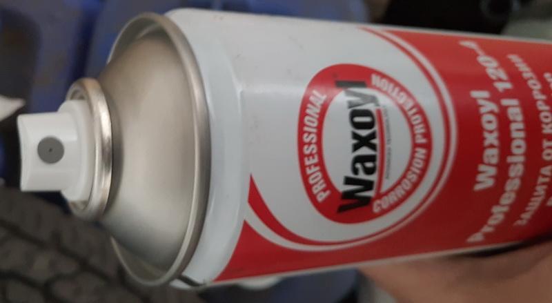 Антикоррозионная мастика для скрытых полостей автомобилей Waxoyl