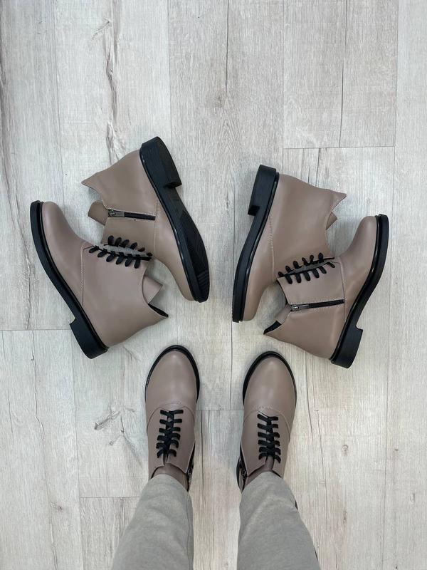 Ботинки женские деми зима 🔝любой цвет - Фото 7