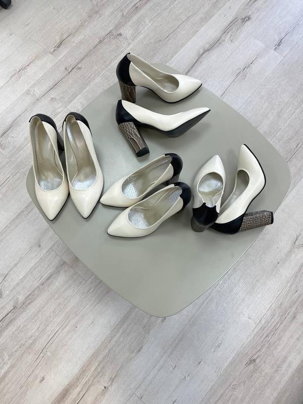 Туфли женские натуральная кожа италия