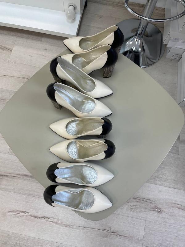 Туфли женские натуральная кожа италия - Фото 4