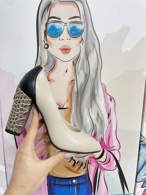 Шикарные женские туфли 👠 любой цвет кожа италия - Фото 2