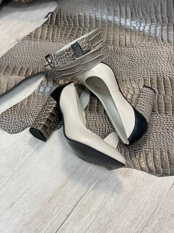 Шикарные женские туфли 👠 любой цвет кожа италия - Фото 3