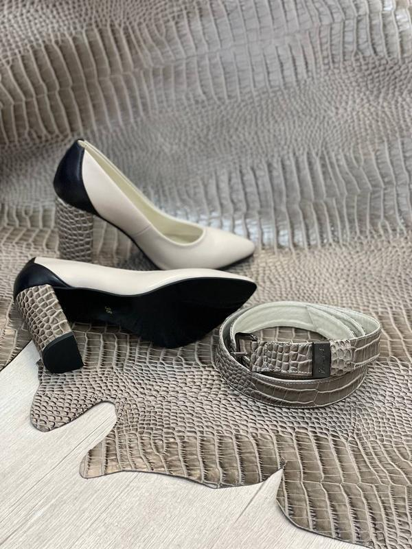 Шикарные женские туфли 👠 любой цвет кожа италия - Фото 4