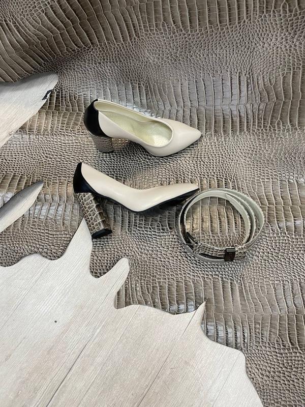 Шикарные женские туфли 👠 любой цвет кожа италия - Фото 5