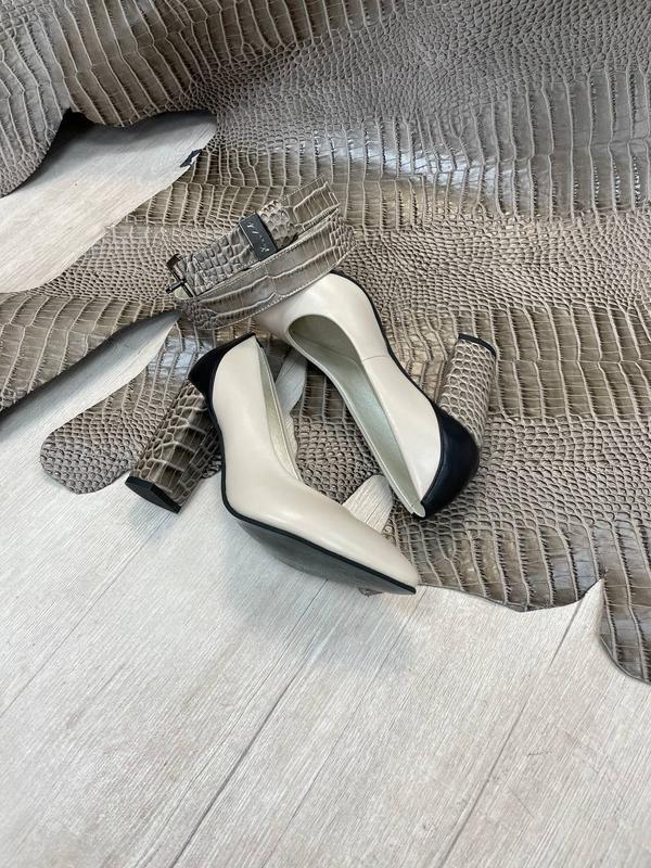 Шикарные женские туфли 👠 любой цвет кожа италия - Фото 6