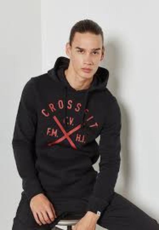 Толстовка  худи свитшот пуловер reebok crossfit   оригинал из сша