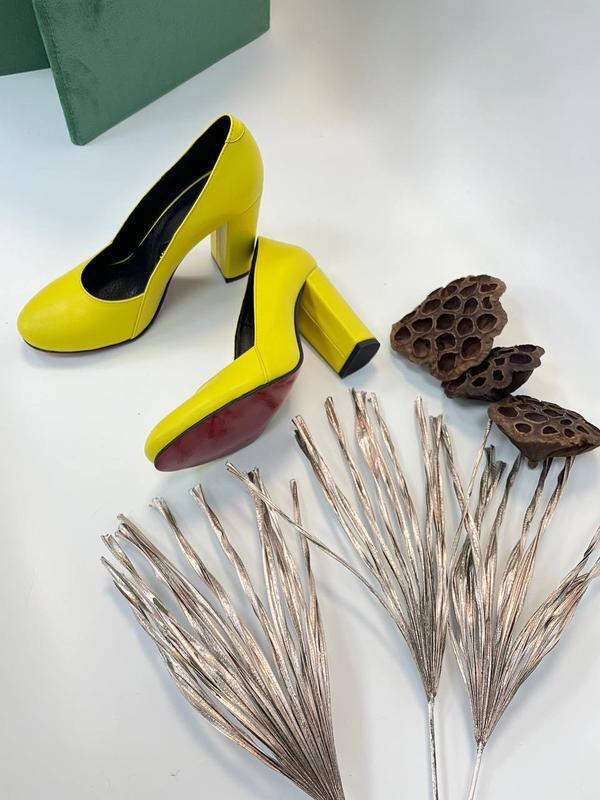 Туфли женские натуральная кожа - Фото 3