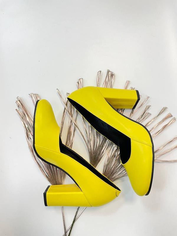 Туфли женские натуральная кожа - Фото 4