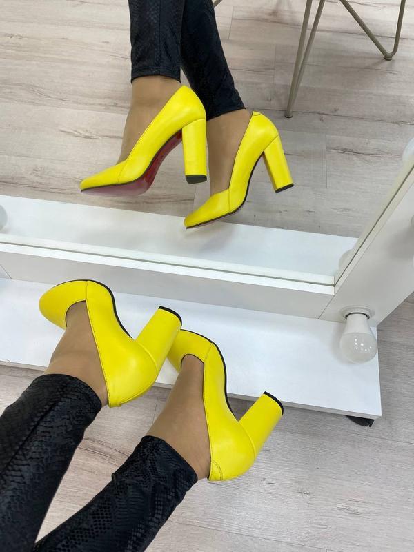 Туфли женские натуральная кожа - Фото 6