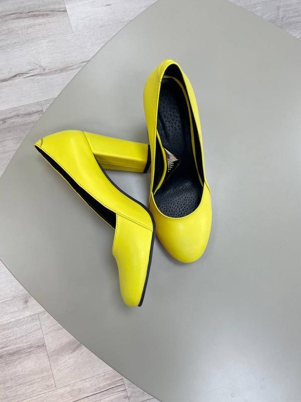 Туфли женские натуральная кожа - Фото 7