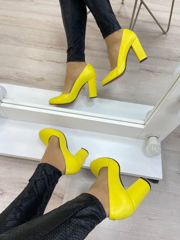Туфли женские натуральная кожа - Фото 8