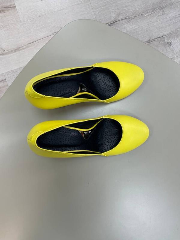 Туфли женские натуральная кожа - Фото 9