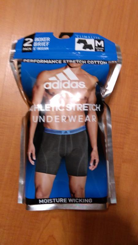 Трусы  боксеры брифы adidas athletic stretch climalite оригина... - Фото 2