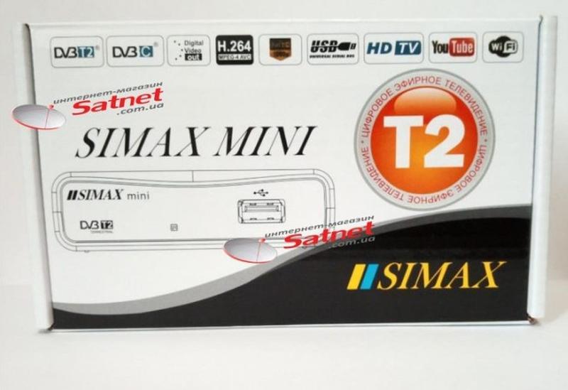 Эфирный ресивер SIMAX MINI T2 IPTV
