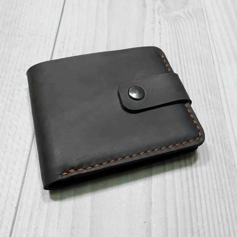 Кошелёк, карманное портмоне из натуральной кожи