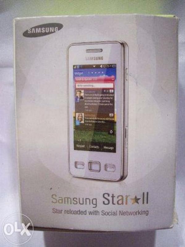 Мобильный телефон Samsung Star II GT- S5260 - Фото 2
