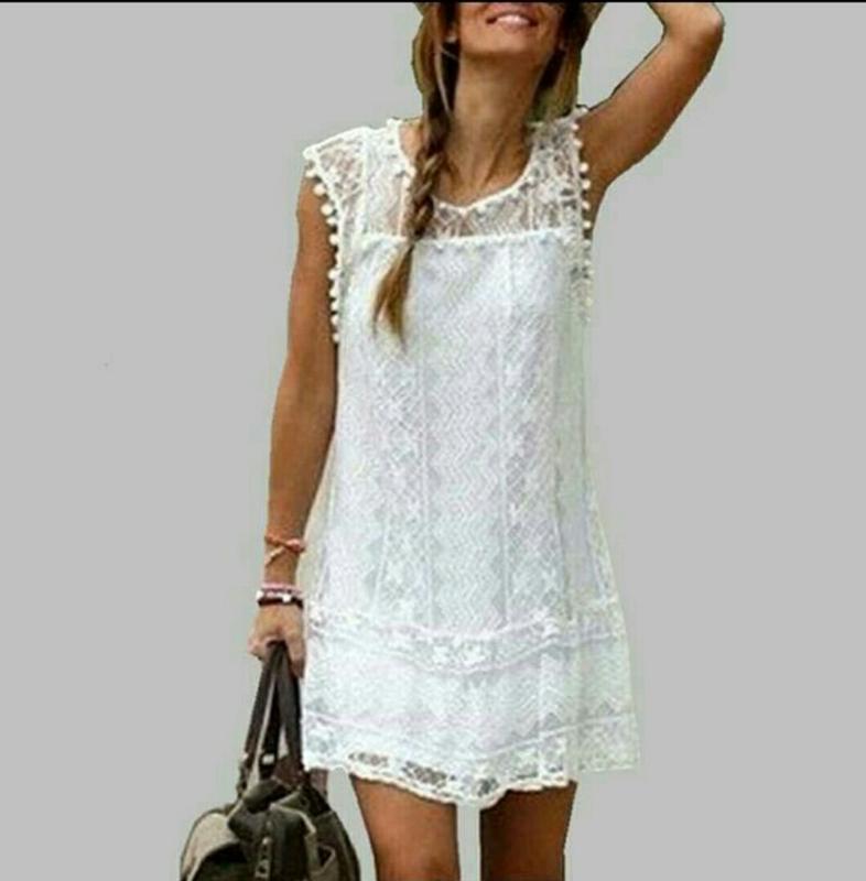 Ажурное платье, туника бренда boohoo