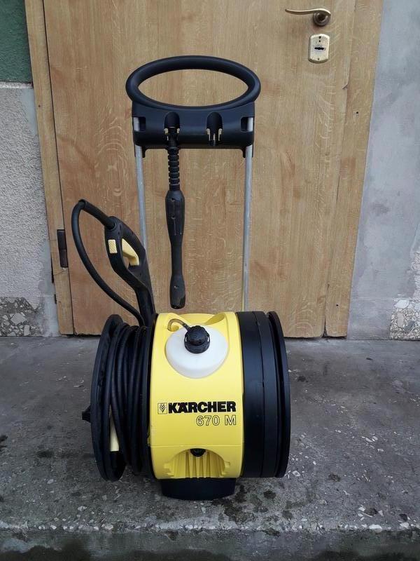Мойка керхер-karcher 670m. 2,5kw.