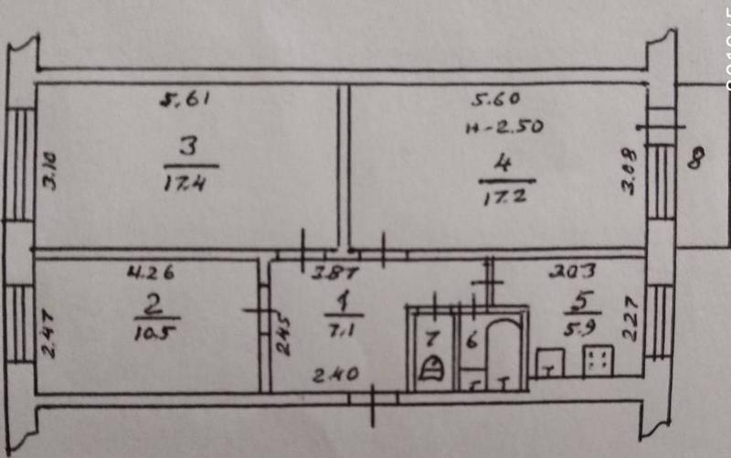 3-комнатная квартира на Паустовского на 4 этаже! - Фото 11
