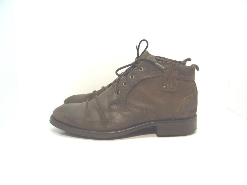 Мужские утепленные кожаные ботинки liberto р. 43