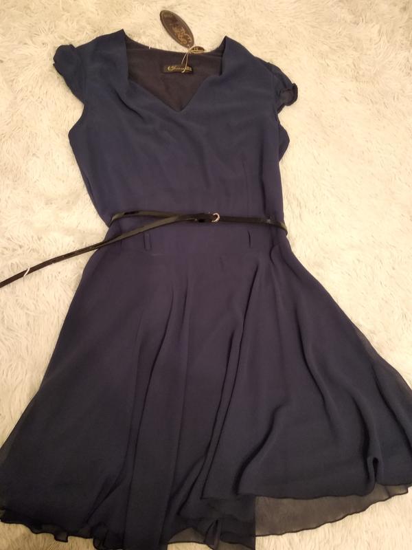 Шифоновое платье размер 40 турция