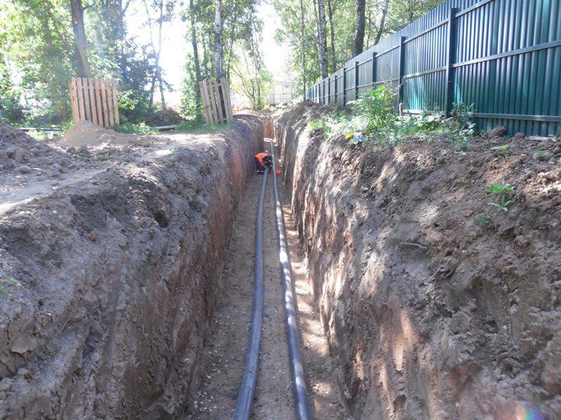 Будівництво мереж зовнішнього водопостачання