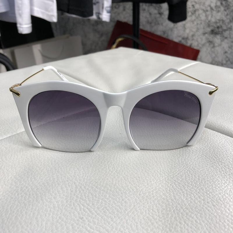 Очки солнцезащитные sunglasses rasoir square frame white/gray
