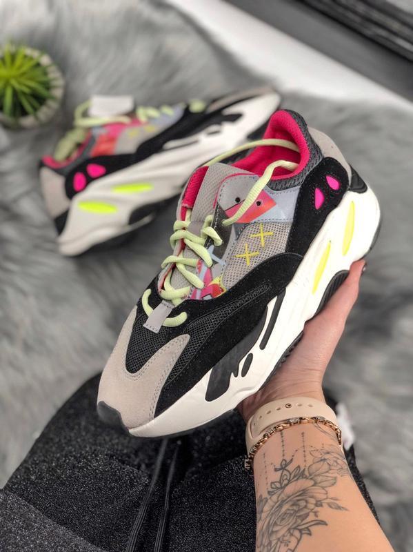 Кроссовки adidas custom kaw x yeezy runner 700 см