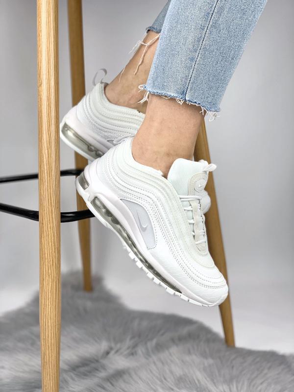 Кроссовки air max 97 white