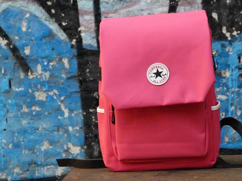 Рюкзак сonverse bag pink