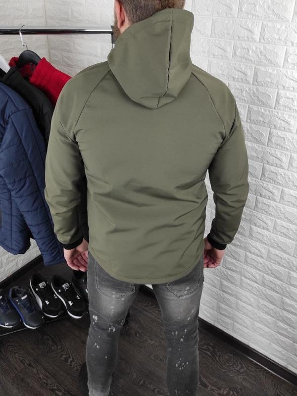 Мужская куртка на флисе - Фото 6