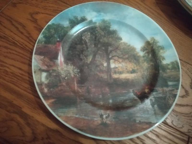 Тарелка сувенирная коллекционная настенная Германия фарфор Бав...