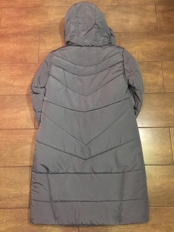 Продам женскую зимнюю длинную куртку, пуховик. большие размеры! - Фото 2