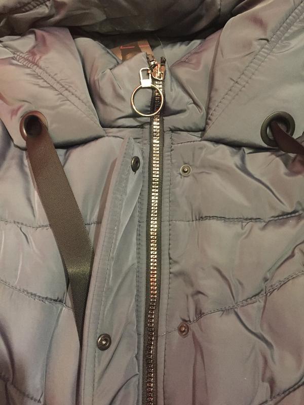Продам женскую зимнюю длинную куртку, пуховик. большие размеры! - Фото 3