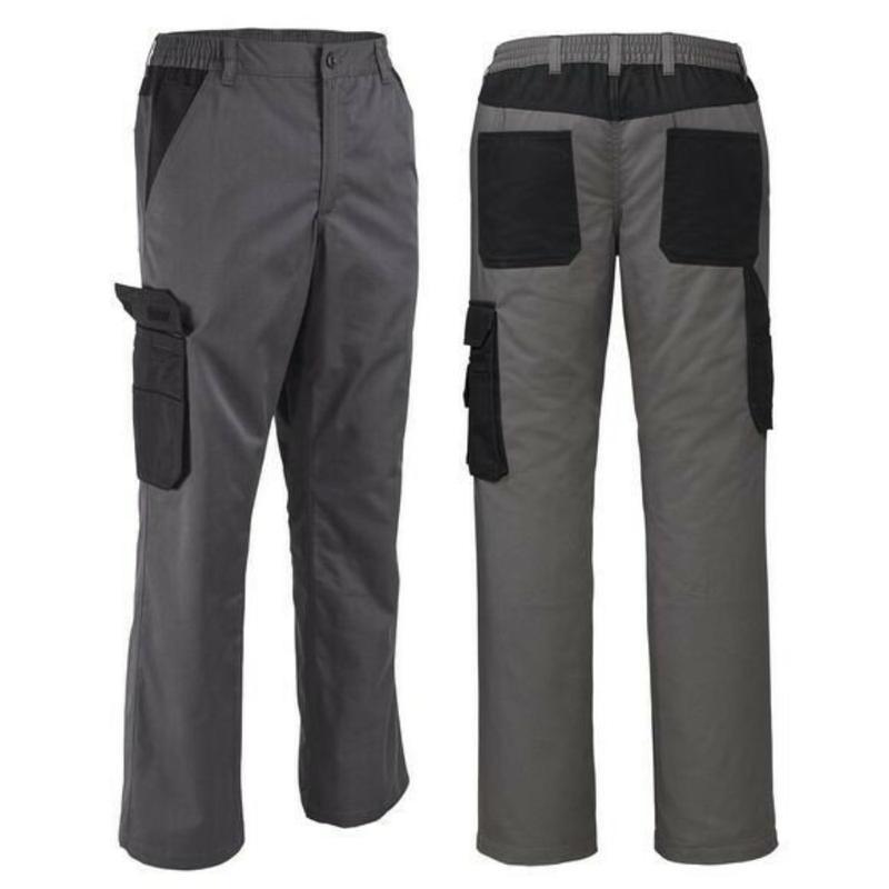 Спецодежда. теплые рабочие штаны на флисе термо брюки powerfix...
