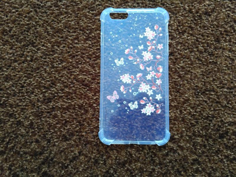 Чехол на iphone 6plus Цветочки