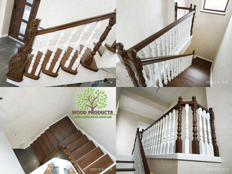 Монтаж лестниц, лестницы под ключ, лестницы из твердых пород д...