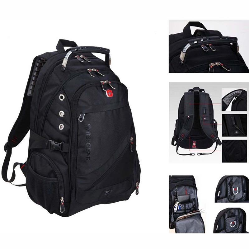Рюкзак Swissgear 8810 с чехлом-дождевиком 40 л - Фото 9
