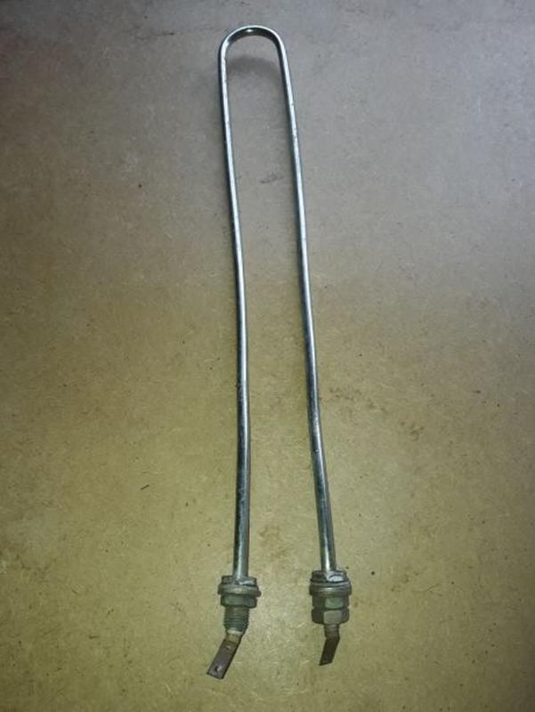 Тэн (тен) электрический нержавеющий 2кВт 1991года выпуска. Новый