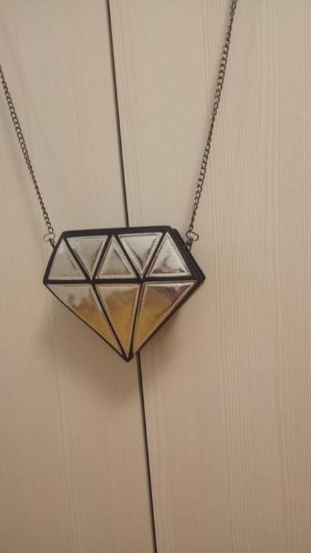 3-51 сумка в формі діаманта бриллиант, алмаз, драгоценный камень - Фото 6