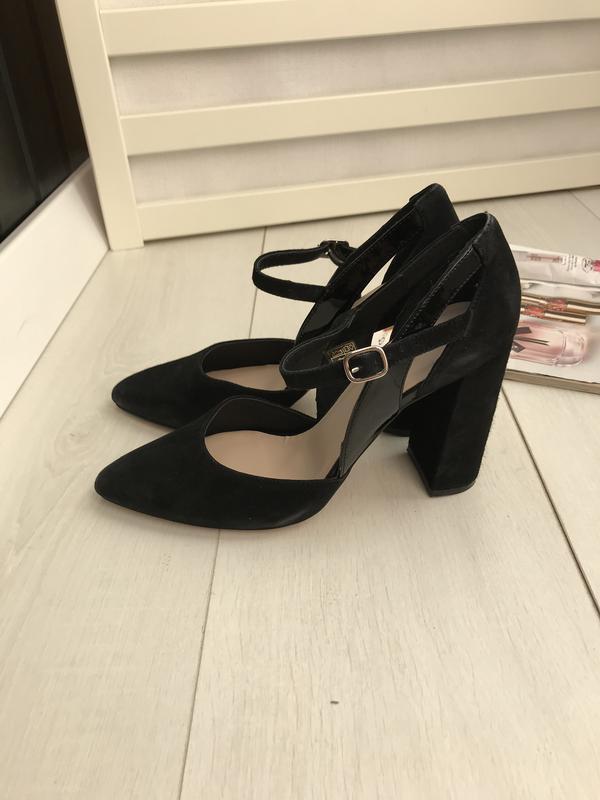 Туфли испания чёрные