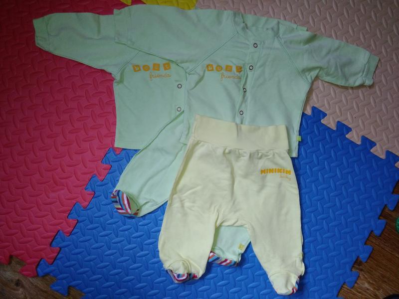 Костюм, штаны и кофта, munikin, рост 68