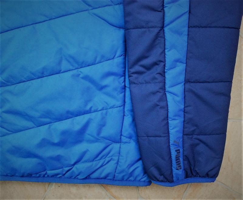 Куртка puma ess warmcell padded jacket оригинал синяя