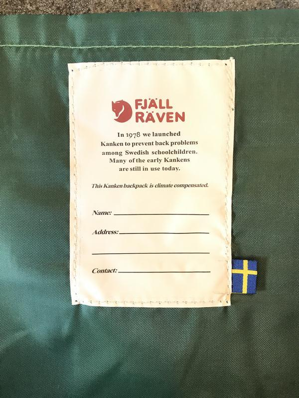 """Рюкзак fjallraven kanken 20l """"green fable"""", оригинал - Фото 9"""