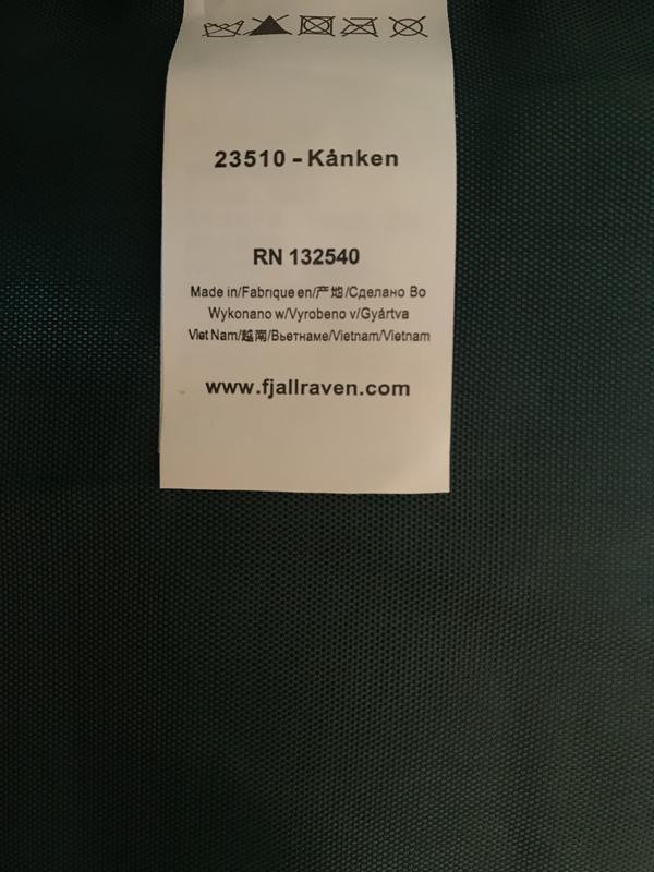 """Рюкзак fjallraven kanken 20l """"green fable"""", оригинал - Фото 10"""