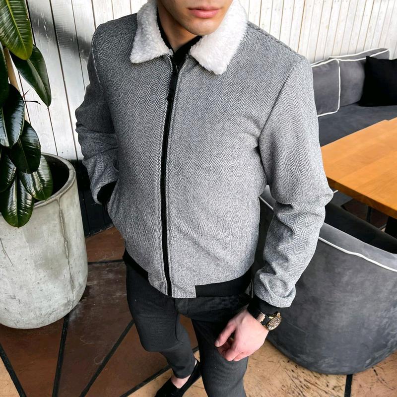 """Мужская куртка в стиле сasual сезона весна осень Jacket """"St.Trope - Фото 2"""