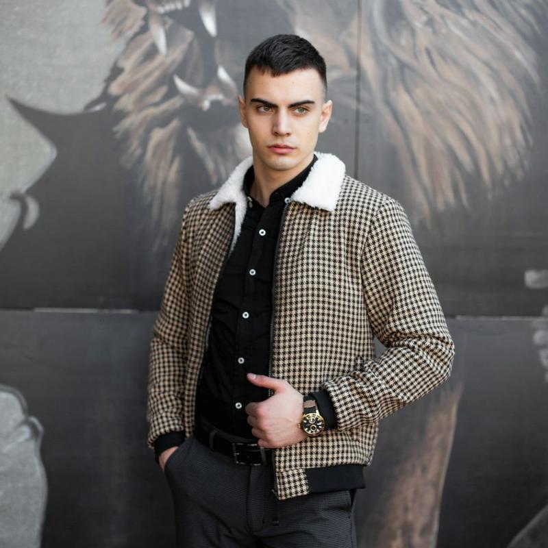 "Мужская куртка в стиле сasual сезона весна осень jacket ""st.tr..."