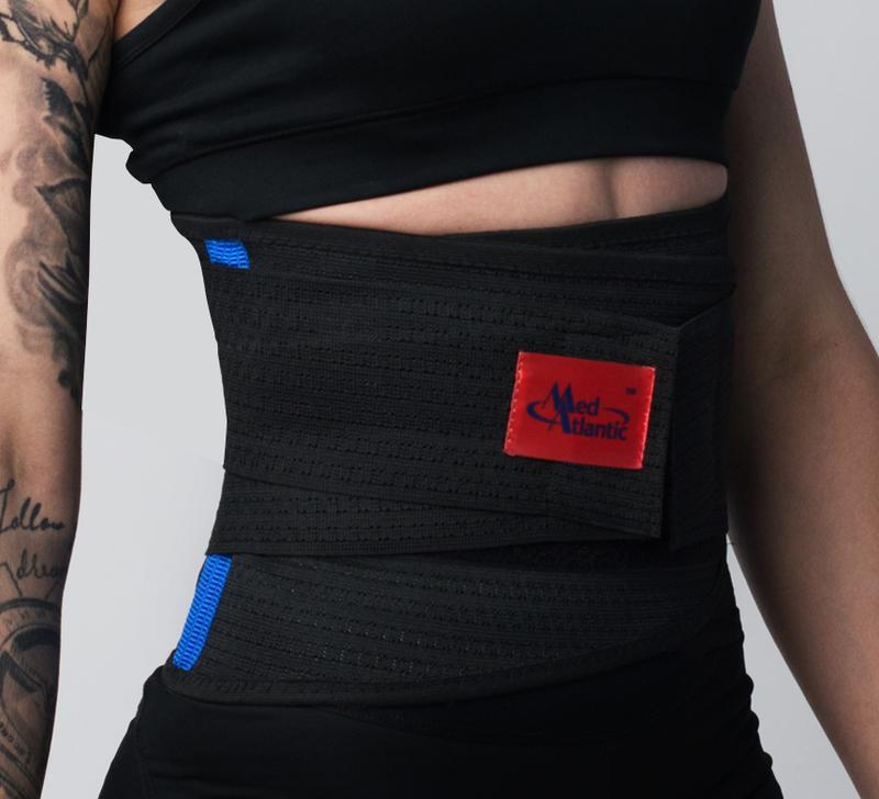 Пояс-корсет для тренировок. Пояс для спорта. Поддержка спины.