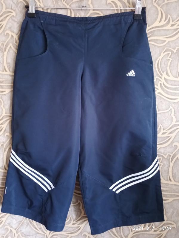 Спортивные шорты/капри/ бриджи adidas унисекс/ рост 164 см