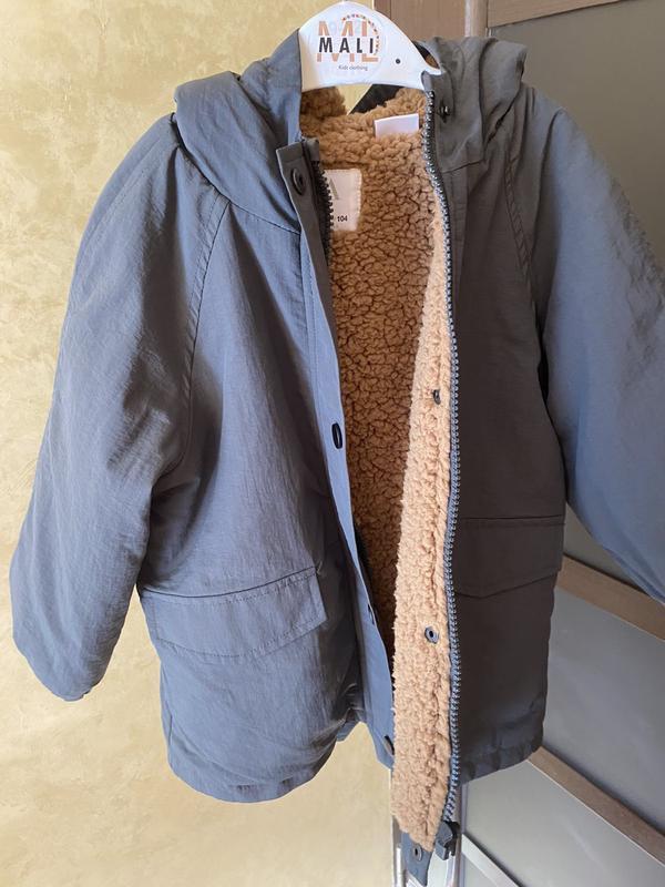 Демісезонна курточка для хлопчика 18-24м фірми zara(оригінал)....